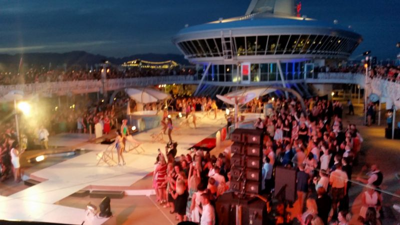 TUI Cruise ship launch events 2016 - 2019